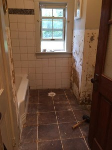 Unfinished Bathroom