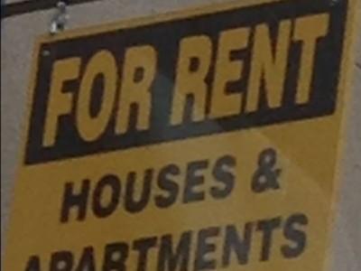Rent Sign